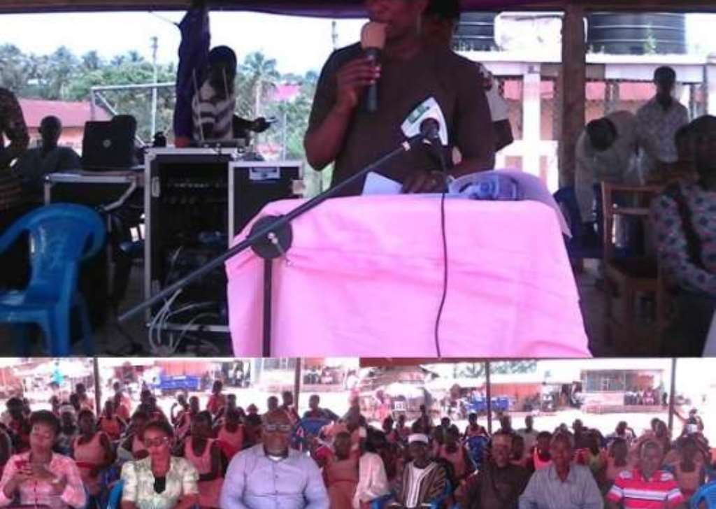Kwahu South Undertakes Water Projects