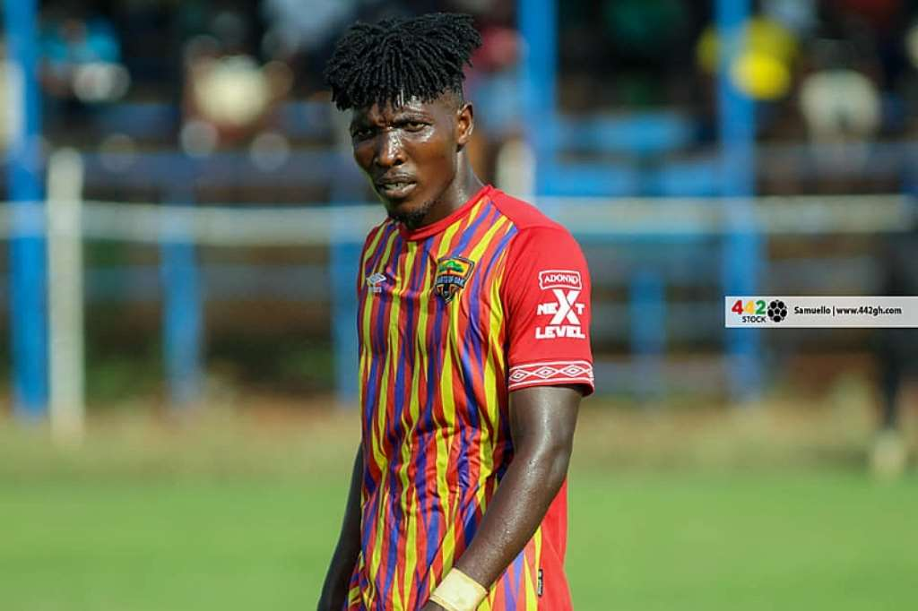 I still remain Hearts of Oak player - Benjamin Afutu dismisses exit reports