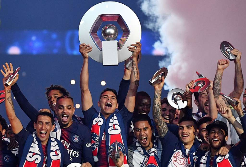 PSG 'Crowned Champions' After Ligue 1 Cancellation
