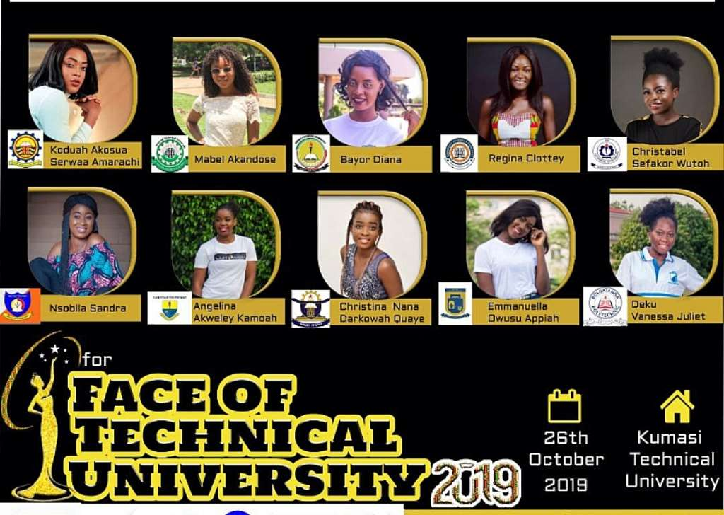 Profiles Photos Contestant Of Face Of Technical University Unveiled