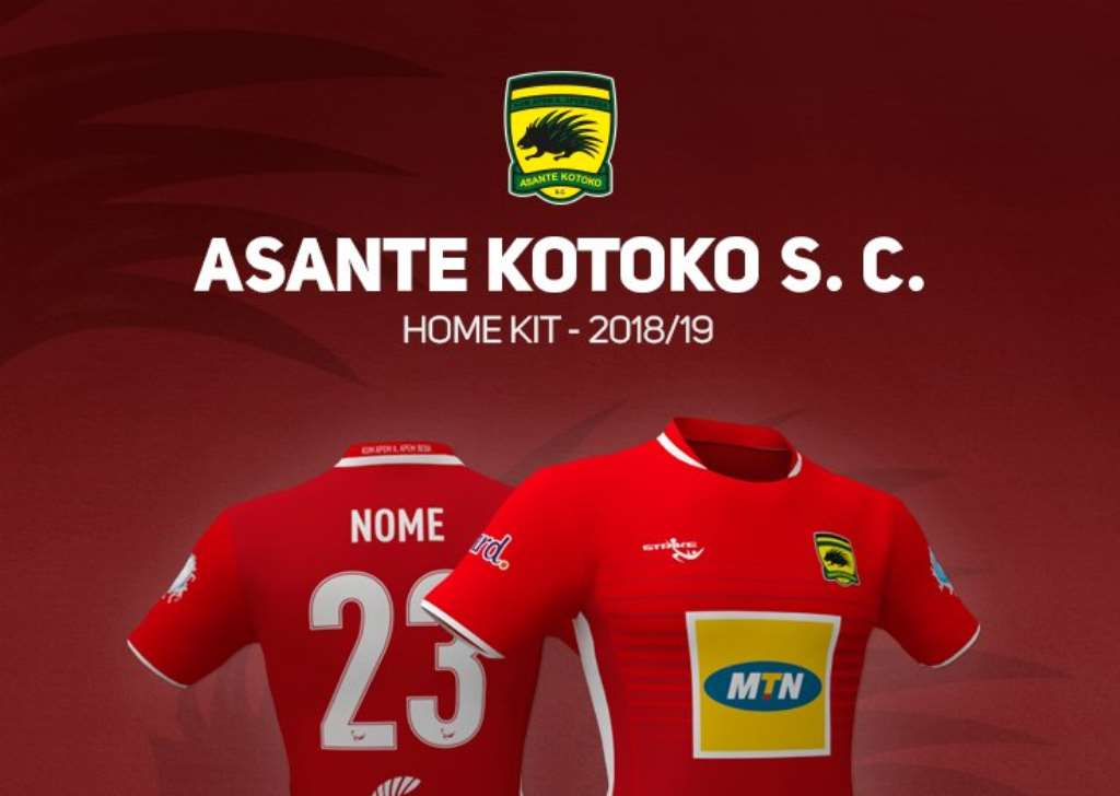 Reports: Asante Kotoko set to part ways with kits suppliers STRIKE