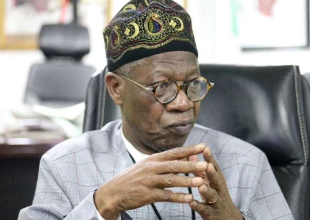 SERAP sues FG, Lai Muhammed over repressive directive to broadcasters to stop  using Twitter