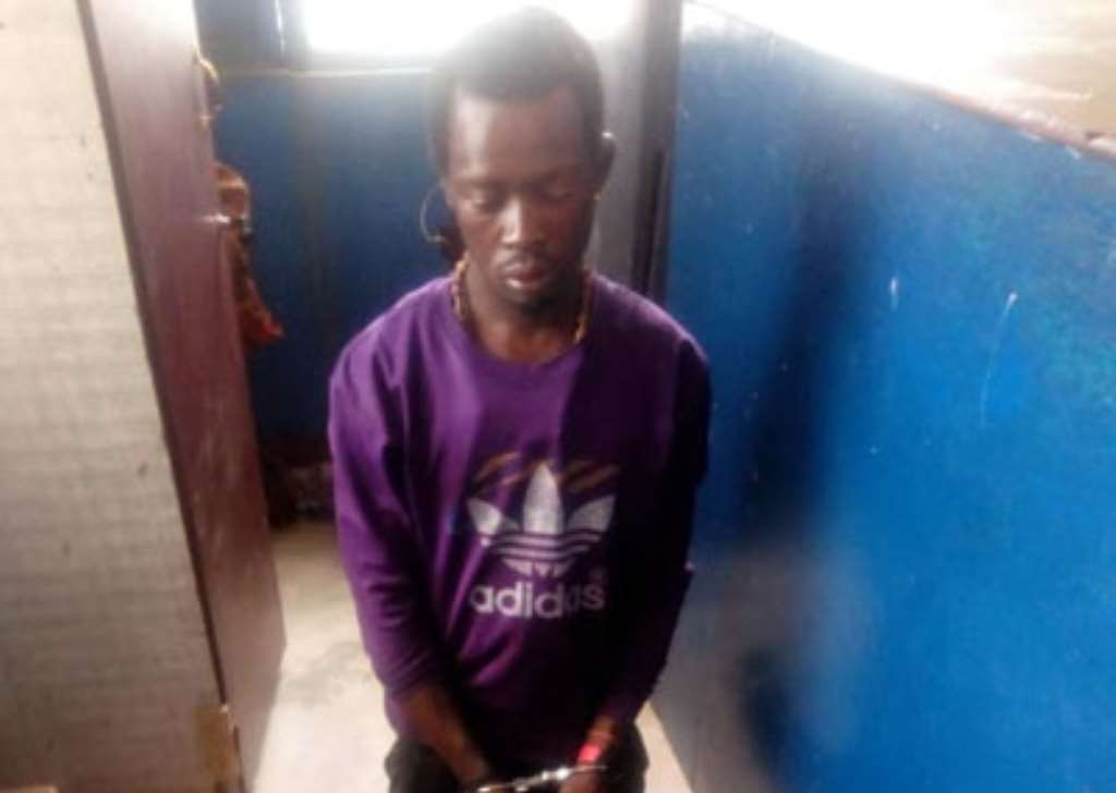 Sakawa Boy Arrested With Human Parts