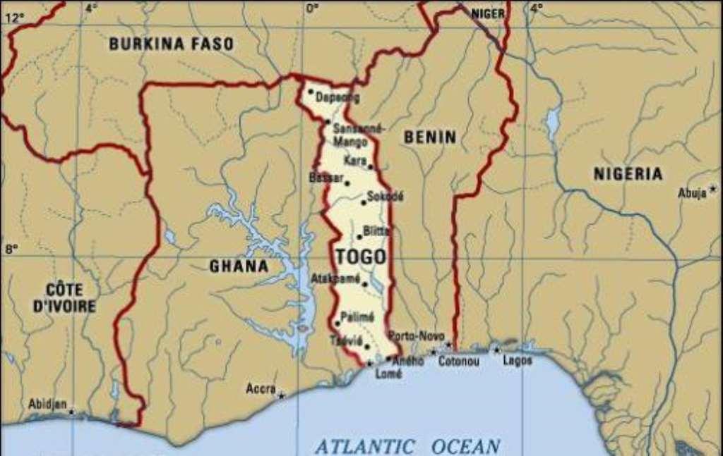Image result for Ghana-Togo-Burkina borders