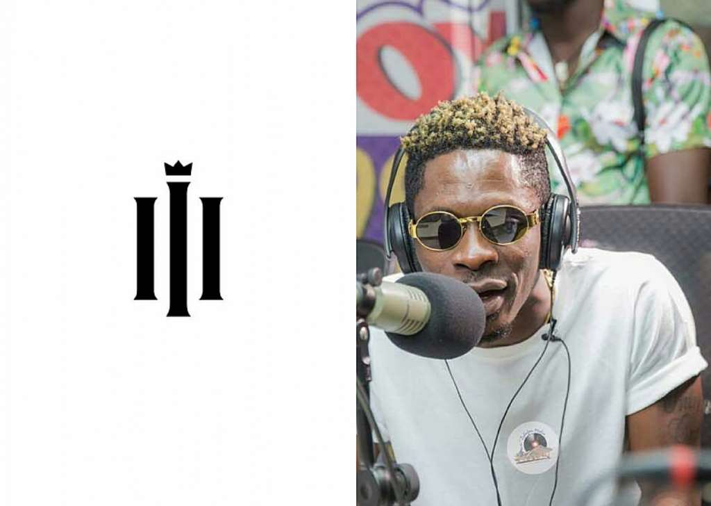 REIGN ALBUM's logo shows Shatta Wale is now Third degree