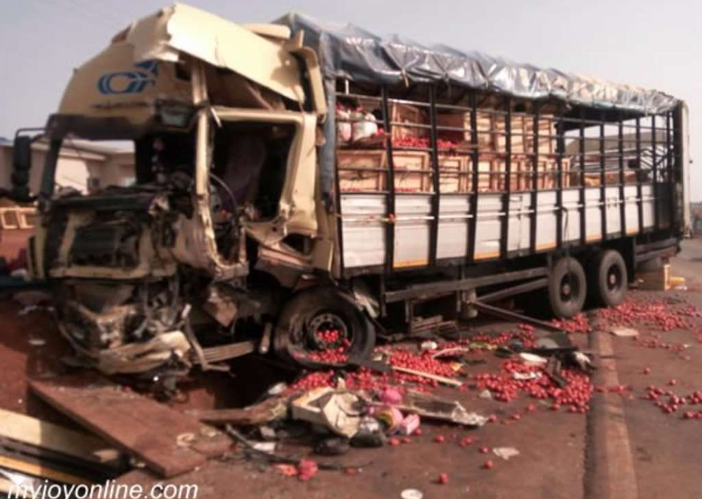 Kintampo accident: 'Tomato truck' owner sues MMT
