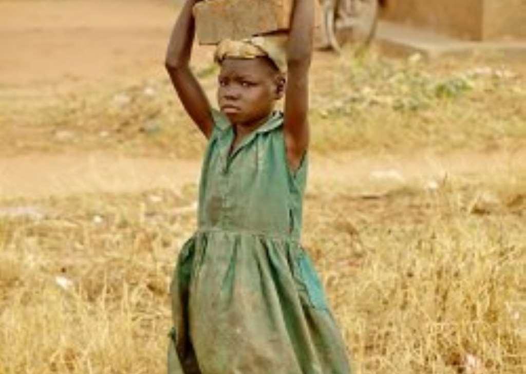 Child Labor in Ghana Along Lake Volta