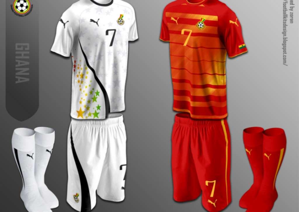 new concept e8982 eada1 ghana black stars jersey