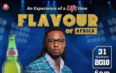 Flavour N'abania Hosts free concert in Enugu with Life Beer
