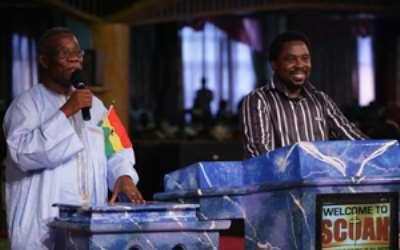 ATTA MILLS THANKS NIGERIANS - Singles out TB Joshua as Lead