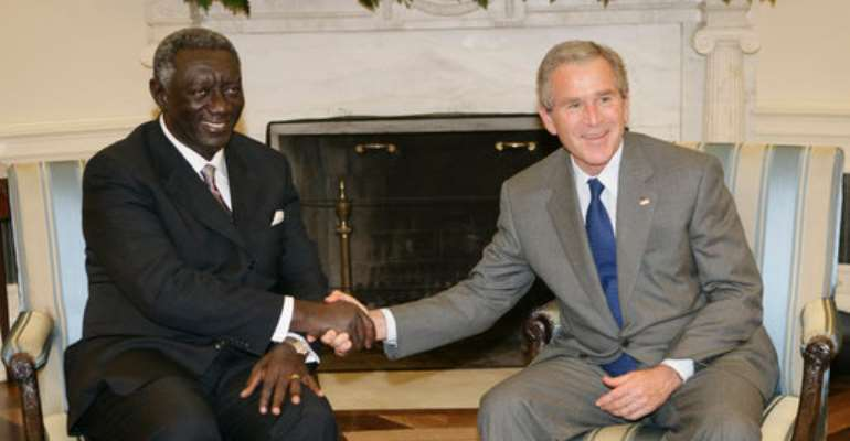 Kufuor to pay state visit to US