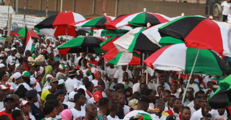 NDC's Campaign Messages Are Symptoms Of Defeat