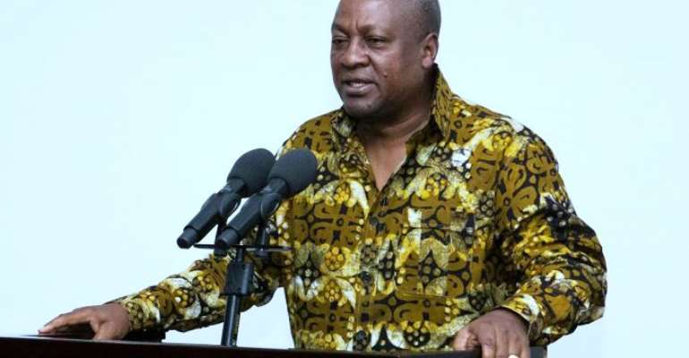 True, Mahama Is Just Like Gregory Afoko