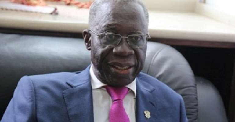Senior Minister, Yaw Osafo Maafo chairs the committee