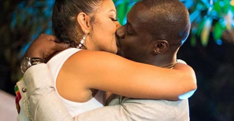 Bettie Jenifer and Chris Attoh got married in October 2018, in Accra
