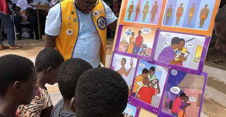Lions Provide Eye Care For Dodowa Residents At Annual Ngmayem Festival