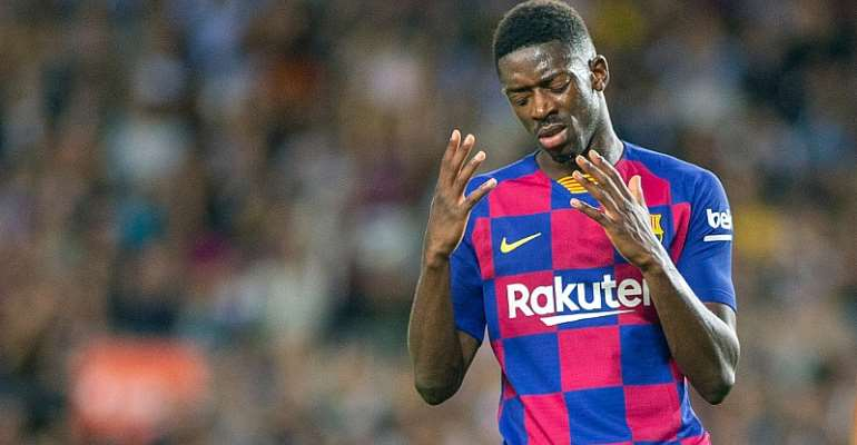 Dembele Ruled Out Of Clasico For Insulting Referee