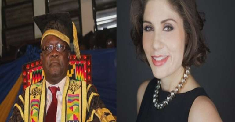 Prof. Ebenezer Oduro-Owusu and Andrea Pizziconi