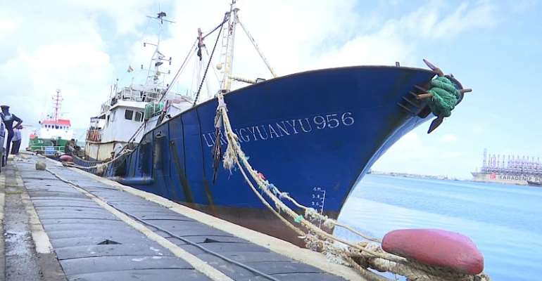 Illegal Chinese Fishing Vessel Fined Over $1m