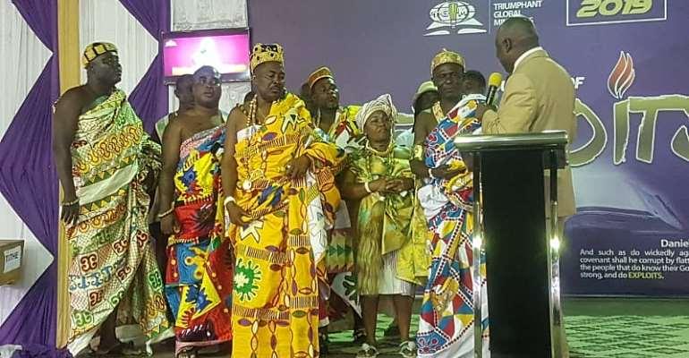Ga State Shall Proclaim Its Glory Again—Nii Awaa II