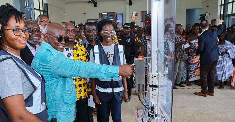 Asante-Mampong: Akufo-Addo Opens Second Medical Drone Delivery Base