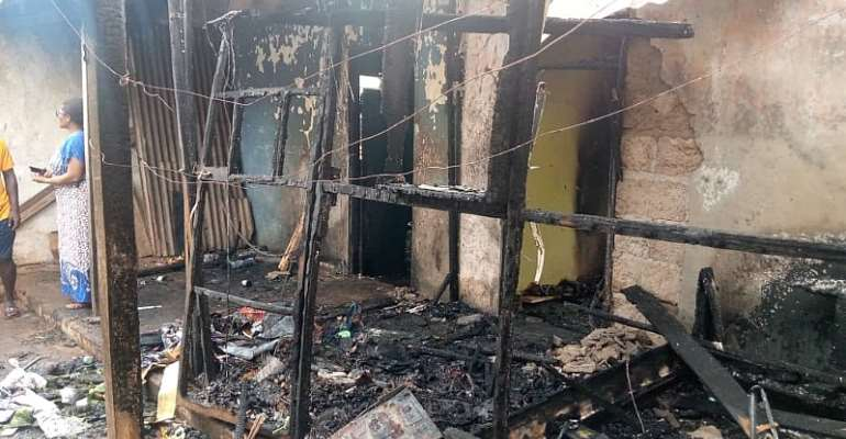 Man commits suicide after setting house ablaze at Kpone