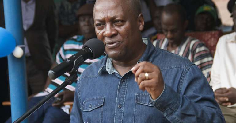 Why Mahama cannot exonerate himself from the insurmountable challenges in galamsey fight