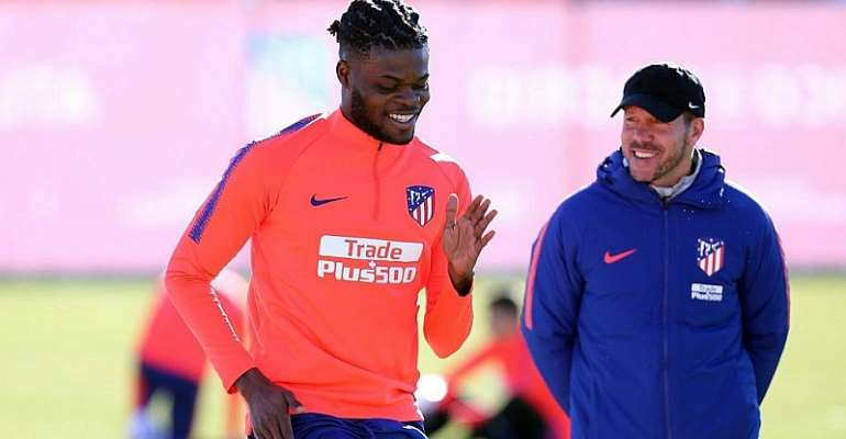 It Would Have Big Blow Should Have Man City Signed Thomas Partey, Says ATM Coach Diego Simeone
