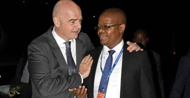 Uganda Football Chief Suspended For Two Months By Fifa