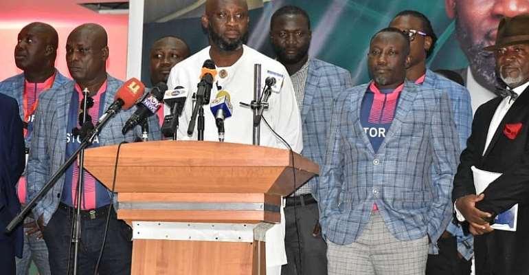 GFA Elections: Harry Zakkour Scores George Afriyie's Manifesto 80 Percent