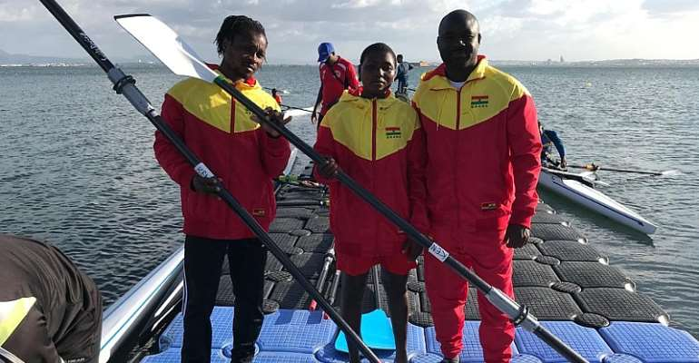 Ghana Rowing & Canoeing Association Prepares For Africa And Olympic Games