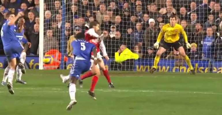 Premier League Remembers Michael Essien's Stunning Goal Against Arsenal