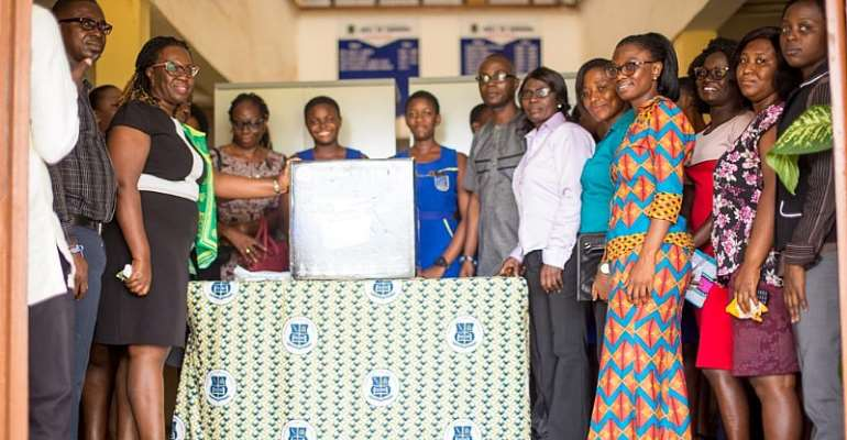 1985 Year Group Of Wesley Girls In Cape Coast Donates To Accra Wesley Girls