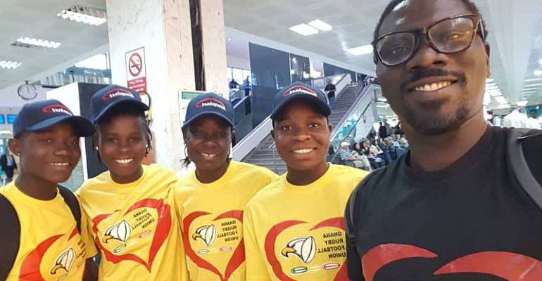 Ghana Rugby Women's Eagles Ready For Battles In Tunisia