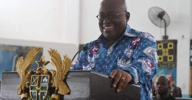 Pass WASSCE To Shame Free SHS Enemies – Akufo-Addo Tells Students
