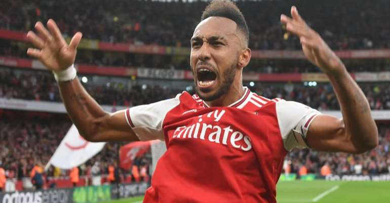 Pierre-Emerick Aubameyang Named Premier League Player Of The Month