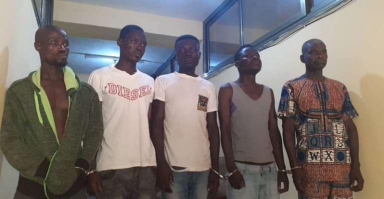 V/R: Pastor, 5 Others Arrested For Robbing Filing Station