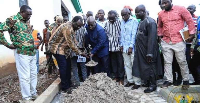 1D1F: Akufo-Addo Inspects Machine Spare Parts, Equipment Manufacturing Centre In Kumawu
