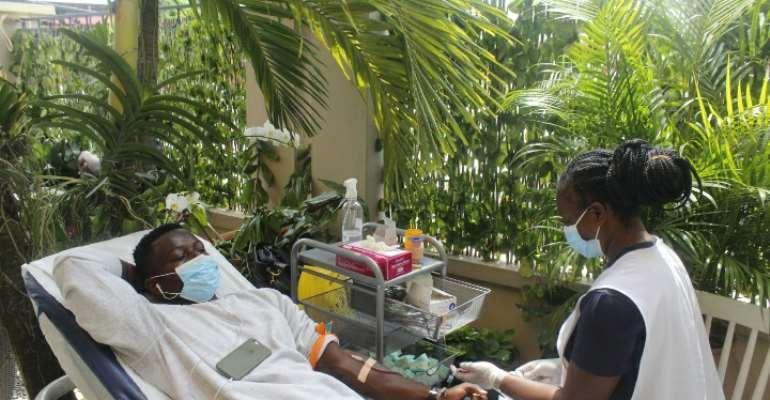 Zipline Ghana, Franklyn Medical Service embark on blood-drive