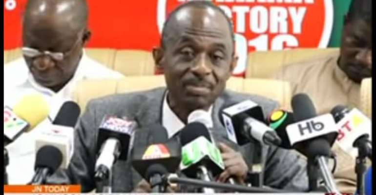 Rehash your 2012 manifesto- Asiedu Nketia tells NPP