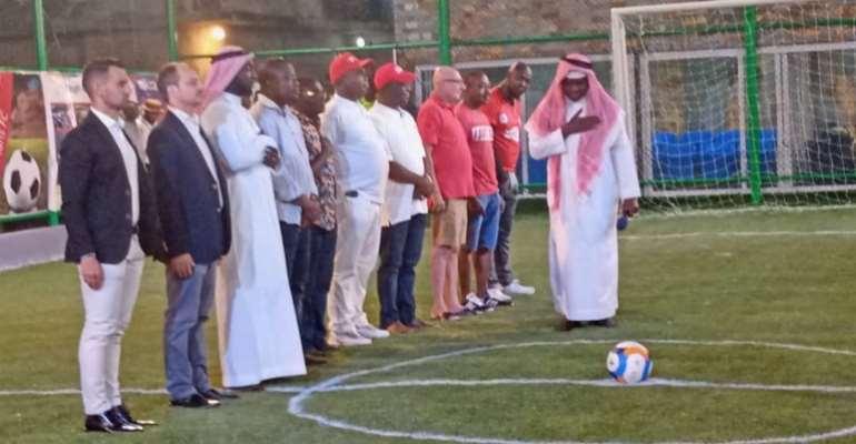 Multi-Purpose Sports Complex Opens in Nima