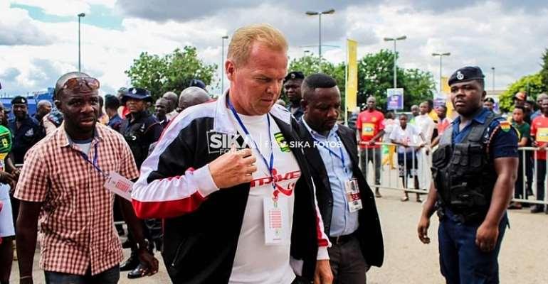 Kotoko Have No Plans Of Sacking Coach Kjetil Zacchariassen