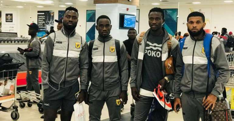 AshGold Arrive In Ghana After CAF Confederation Cup Exit