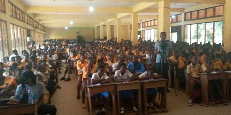 Dzifa Gomashie Supports Science And Technology Fair