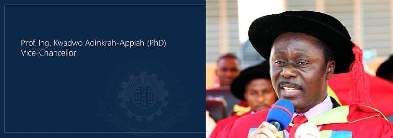 Sunyani Technical University Council Confirms Prof. Adinkrah-Appiah As VC
