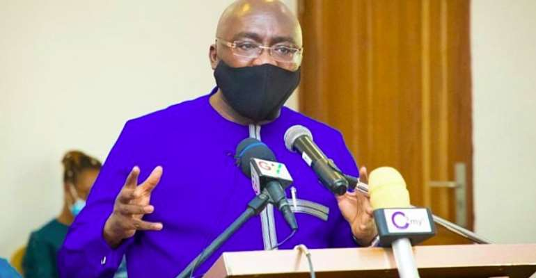 NDC Dominates Here, If Your Problems Are Not Being Solved, It's Time To Change Them – Bawumia To Ashaiman Residents