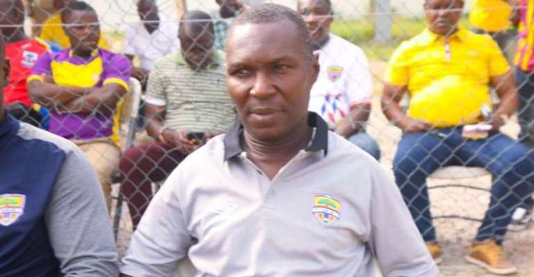 Head coach for Hearts of Oak, Edward Nii Odoom
