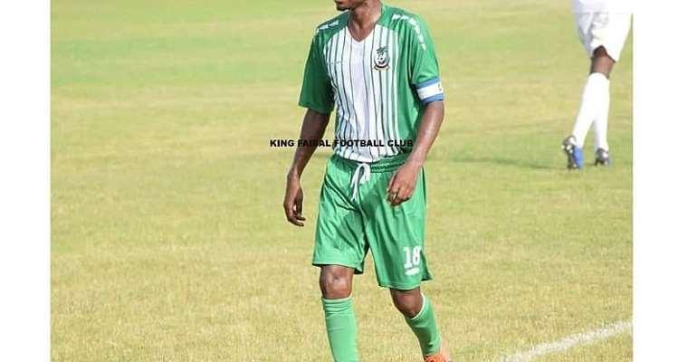 Midfielder Mujeeb Abdul Hakeem. Photo credit/King Faisal FC