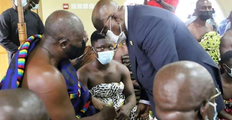 Leadership is about sacrifices — Asantehene tells Akufo-Addo