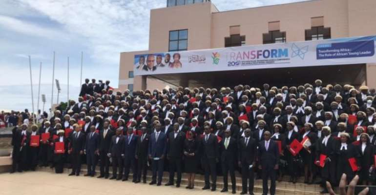 278 new lawyers, including visually impaired called to Ghana Bar